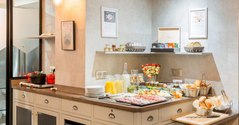 Best Western Plus Hôtel Littéraire Marcel Aymé - Salle du petit-déjeuner