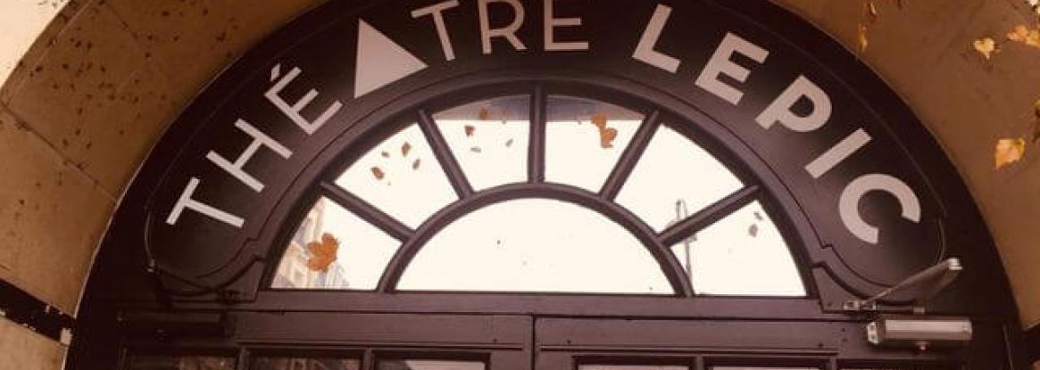 Le théâtre Lepic